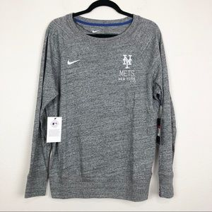Nike MLB New York Mets Long Sleeve Pullover